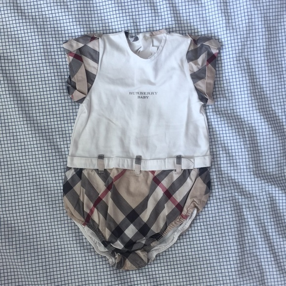 67994694d1fb Burberry One Pieces | Rompers Body 3 6 Months Belt | Poshmark
